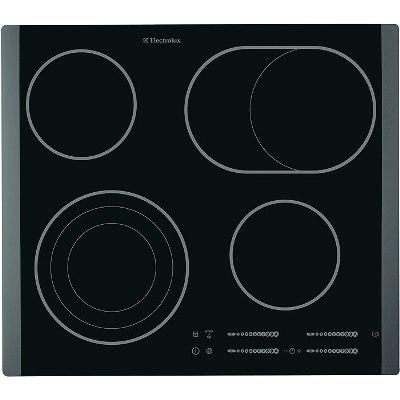 Варочная панель Electrolux EHS 60210 P (Электрическая, независимая, панель конфорок: стеклокерамика, цвет панели...