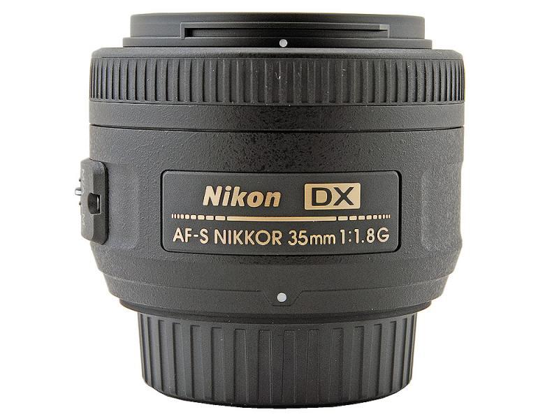 Фокусное расстояние.  AF-S DX NIKKOR 35mm f/1.8G.  Оптическая схема объектива.  Минимальная диафрагма.