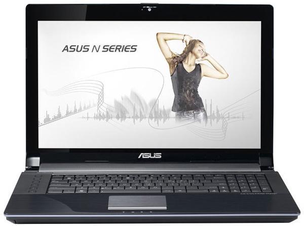 Ноутбук asus n73sv 90n1rl118w5b7krd93au (intel core i5 2430m