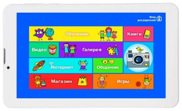 Планшет TurboKids 3G White